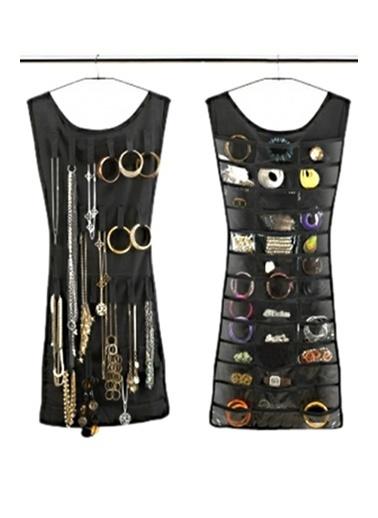 Practika Elbise Şeklinde Takı-Mücevher Organizeri Renkli